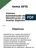 Sistema AFIS