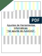 1er Apunte AutoCAD