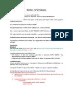 Delitos Informáticos (derecho informatico sesion 7)