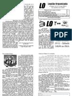 Quadragésima Segunda Edição do Jornal da LO