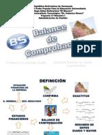 Estructura Del Balance de Comprobacion