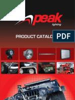 Peak Lighting Catalogue