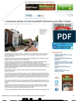 Community Speaks Out About Possible Downtown Post Office Closure _ LoudounTimes