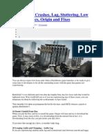Battlefield 3 Crashes