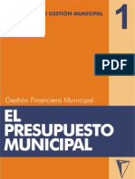 Presupuesto Municipal Ser