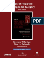 [Morrissy & stein Atlas of Pediatric Orthopaedics Surgery (3rd Edition)
