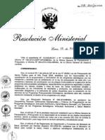 RM178-2011-MINSA Definiciones Operacionales y Criterios de Programacion de los Programas Estrategicos.