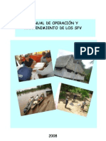 Manual de operación y mantenimiento de los SFV