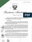 RM278-2011-MINSA Plan Nacional de Fortalecimiento del Primer Nivel de Atencion, 2011-2021.