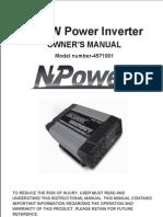 1000 Watt. Inverter