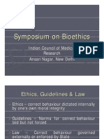 Symposium on Bioethics