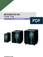 Manual MM420