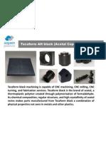 Tecaform AH black (Acetal Copolymer – POM
