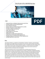Marketing Plan of a Movie Ra One