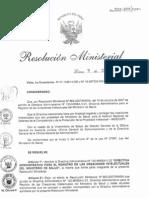 RM522-2011-MINSA DA120-Minsa, Registro de las Creaciones Intelectuales del Minsa.