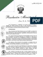 RM555-2011-MINSA Agenda Nacional de Investigacion en ITS y VIH/SIDA para el periodo 2011-2014.