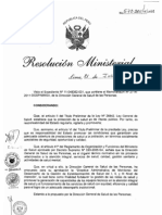 RM572-2011-MINSA DA182-Minsa, Monitoreo del desempeño de la Gestion de los EESS del I, II y III nivel de atencion
