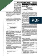 DS024-2005 Sistema de Informacion Estandar de Datos en Salud