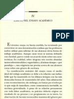 El Ensayo, Jose Alberto Velez, Iv0001