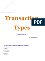 Transaction_Types in Receivables