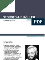GEORGES JF KHOLER (Biografía, trabajo y legado)