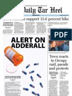 The Daily Tar Heel for November 15, 2011