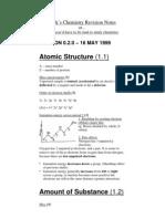 Chemistry Atomic Struture