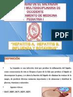 Seminario Hep a, B, Influena y Rotavirus