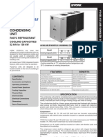Yccd Cu Condensing Units 52 158 Kw