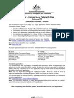Documents Visa175 Checklist