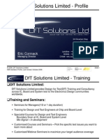 DfT Solutions NMI Members Presentation