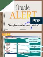 Oracle Alerts