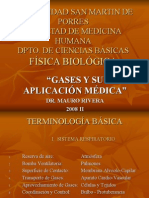 Gases en Medicina