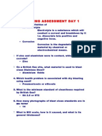 Training Assessment Day 1