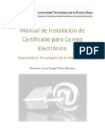 Manual Certificado Correo SSL - Luis Angel Frias