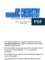 Intro Organic Chemistry 2011