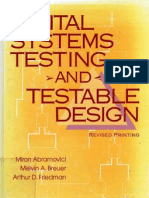 Digital Systems Testing and Testable Design Abramovici 1990