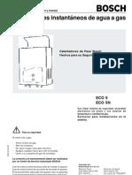 Boiler Bosch Manual_ECO5