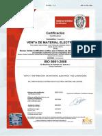 Bureau Veritas Certificado ISO 9001:2008 VEMATEL