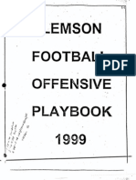 1999 Clemson Offense by Rich Rodriquez
