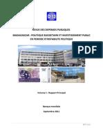 Revue des dépenses publiques - Madagascar
