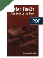Le Livre Du Signe, abraham aboulafia