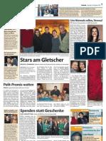 """Verena Buratti in """"Um Himmels Willen"""" - Dolomiten ganze Seite 15.11.11"""