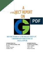 Gajendra Crompton Project