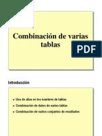 6.- Combinacion de Varias Tablas