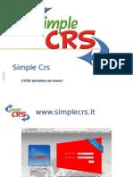 SimpeCrs Presentazione
