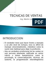 TECNICAS DE VENTAS
