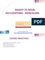 Insight to Resin Restorations Bangalore