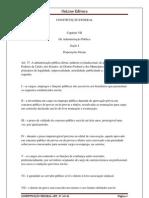 CONSTITUIÇÃO FEDERAL ART 37 AO 41