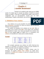 Chap 4 Modele Relationnel